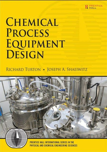 Chemical Process Equipment Design Chemistry Book Process