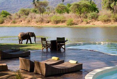 Poolandspa.com Chongwe River House pool - Zambia, Africa