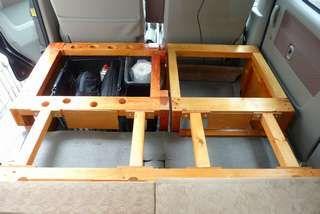 木製フルフラットベッドの製作 Sl エブリイ ホームメイドキャンパー ブログ エブリィ 内装 エブリィ キャンパー