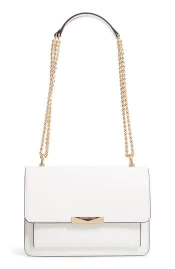 MICHAEL Michael Kors Jade Leather Gusset Shoulder Bag