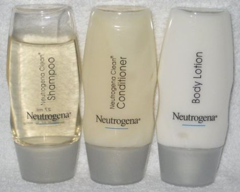 Neutrogena Clean Shampoo Conditioner And Body Lotion Travel Set By 3 95 The Normalizing Is Designed To Handle