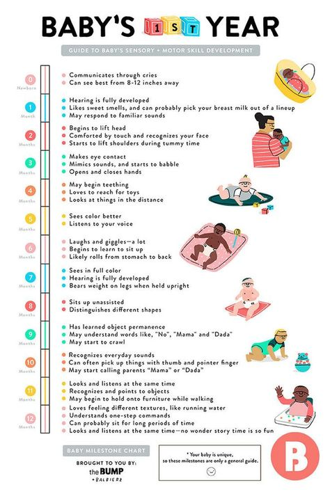 A Quick Guide to Baby's First-Year Milestones