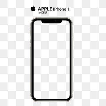 Apple Iphone 11 Pro Max Mockup Shape Transparent Background Png And Psd Iphone Transparent Background Iphone 11