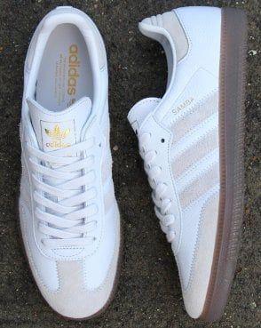 Belicoso Suministro Perdido  adidas Trainers Adidas Samba Og Ft Trainers Crystal White  #MensFashionSneakers   Adidas samba, Adidas white shoes, Adidas