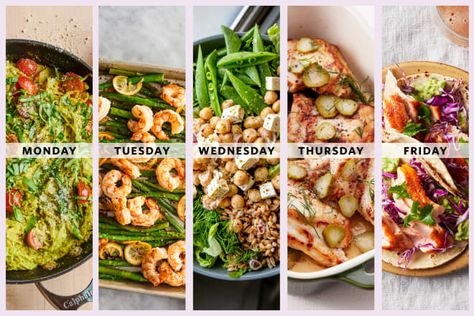 Start here, whether you're curious about the Mediterranean diet or just want inspiration to fill your meal plan with fresh and summery feel-good dinners. READ MORE...