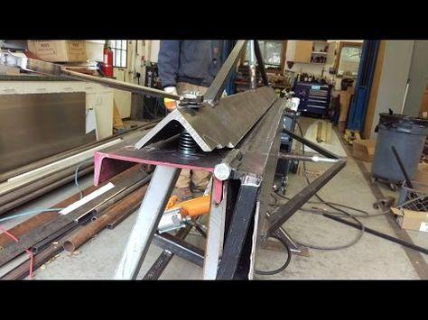 Electrabrake Manual Folder Youtube In 2020 Sheet Metal Brake Aluminum Sheet Metal Diy Metal