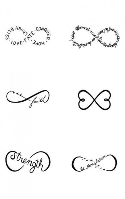 40 New Ideas Tattoo Wrist Strength Infinity Signs Tattoo With