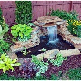 20 Modern Diy Garden Pond Waterfall Ideas For Backyard Diy