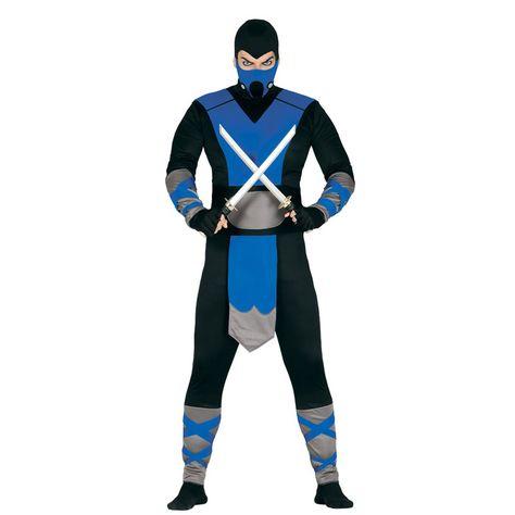 Disfraz de Ninja de Hielo #carnaval #novedades2016