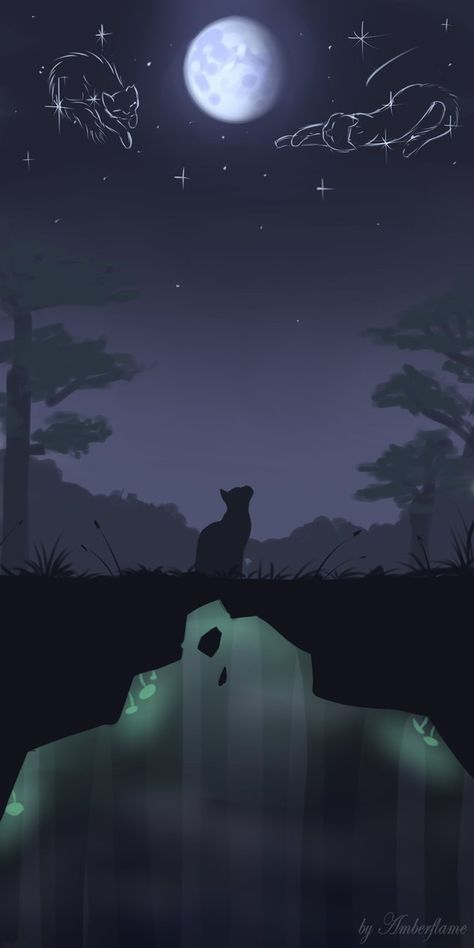 By By Amberflame With Images Warrior Cats Fan Art Warrior