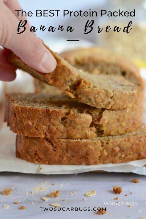 Peanut Butter Oat Banana Bread