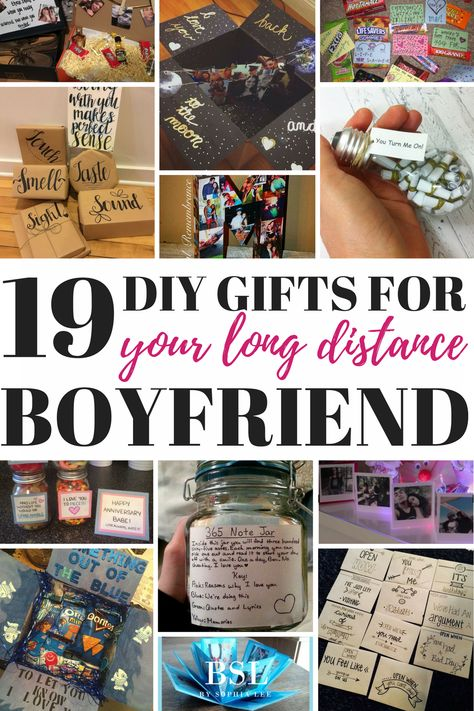 48 Ideas For Diy Gifts For Boyfriend Art Long Distance
