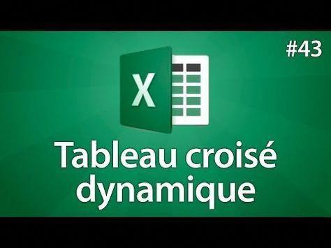 Excel Lier Plusieurs Tableaux De Donnees Excel Dans Un Tableau Croise Dynamique Youtube En 2020 Tableau Croise Dynamique Tableaux De Donnees Bureautique