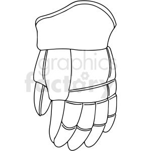 Hockey Glove Clipart Design Royalty Free Clipart 412941 In 2020 Clipart Design Clip Art Design