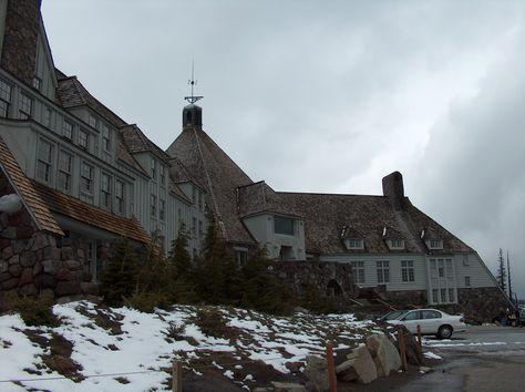 """The Shining,"" Timberline Lodge, Mount Hood, Ore. Contrary to popular belief, the exterior shots of Stanley Kubrick's adaptation of the Stephen King novel were filmed in this august hotel about 50 miles outside of Portland, Ore. – not at the Stanley Hotel in Estes Park, Colo. The perfect place where to imagine being chased by an ax-wielding Jack Nicholson."