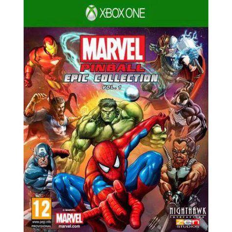 Marvel Pinball Xbox One Verwonderd The Avengers En Playstation
