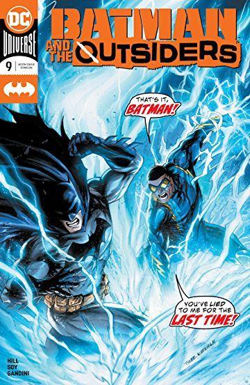 Batman And The Outsiders 2019 9 Batman Comic Cover Comic Books Art Book Art