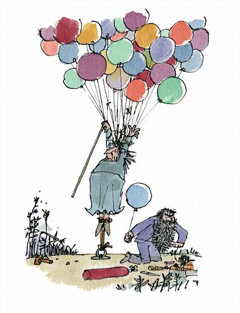 Joyeux Anniversaire Roald Dahl Quentin Blake Roald Dahl