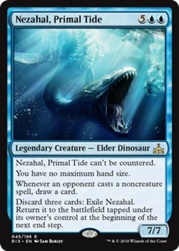 MTG The Dark Drowned blue X4 NICE