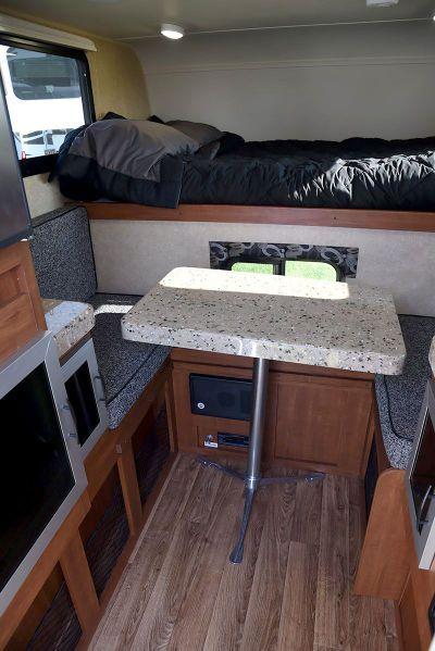 Travel Lite Air Truck Camper Dinette Truck Camper Truck Bed