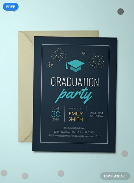 College Graduation Invitation Template Free Pdf Word Doc Psd Apple Mac Pages Illustrator Publisher Outlook Graduation Invitations Template Graduation Announcement Template Graduation Party Invitations Printable