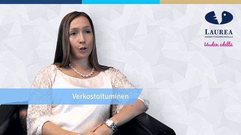 Laurea alumni Milla Hurri talks about the entrepreneurial atmosphere in Laurea.