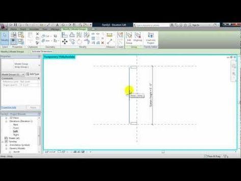 Benv2422 Parametric Design Using Bim Revit Youtube Parametric Design Design