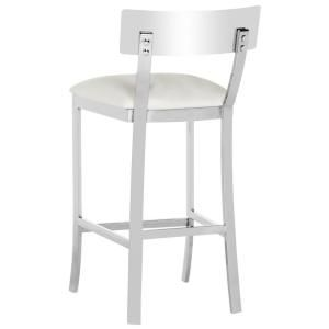Pleasing Safavieh Abby 26 5 In Stainless Steel Counter Stool In Gmtry Best Dining Table And Chair Ideas Images Gmtryco