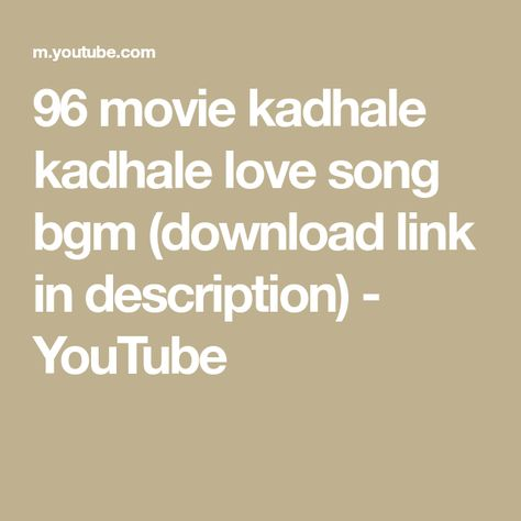 96 love bgm free download