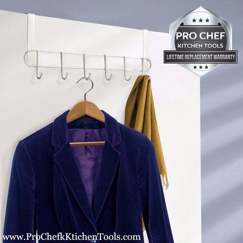 Pro Chef Kitchen Tools Over Door Hook Bath Towel Hooks Behind Door Jewelry