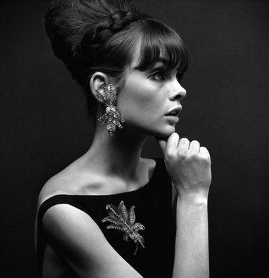 Jean Shrimpton by John French vintage 1960s photo