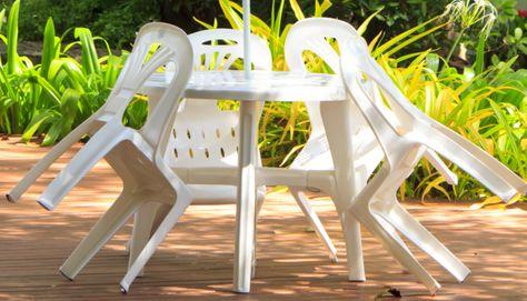 Comment nettoyer meuble jardin plastique | Meuble jardin ...