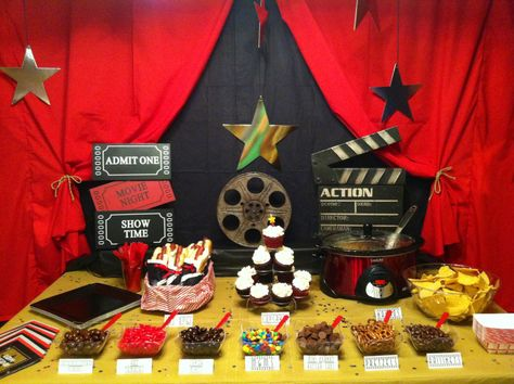 movie night party! great blog post for birthday party, Oscar party, etc.