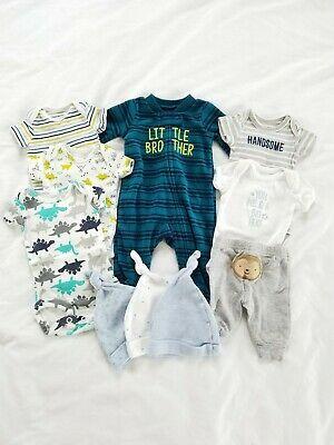 Preemie Baby Boy Clothes Lot Carters Newborn Tops Pants Sleeper Hats 10 Pcs Ebay In 2020 Boy Outfits Preemie Baby Girl Clothes Preemie Babies Boy