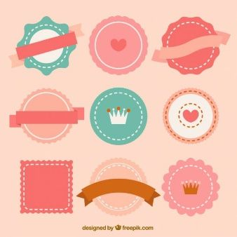 Colorful Labels Vectors, Photos and PSD files