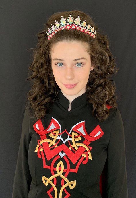 Irish dance queen hairband