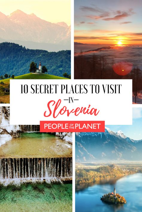 Slovenia Travel | Slovenia is a tiny country located in the heart of Europe, which is becoming increasingly popular with tourists. However, most of them tend to only visit the major places, such as Ljubljana, Bled and Portorož. These are indeed worth a visit, but there are many morelesser-known Slovenia attractions worth a visit. Check out these secret places to visit in Slovenia. #EuropeanTravel #Slovenia #PlacestoVisit #SloveniaTravel #SloveniaAttractions #SecretAttractions