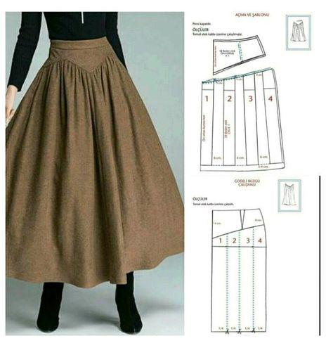 Skirt Patterns Sewing, Vintage Sewing Patterns, Clothing Patterns, Corset Sewing Pattern, Long Dress Patterns, Fashion Sewing, Diy Fashion, Fashion Outfits, Diy Clothing