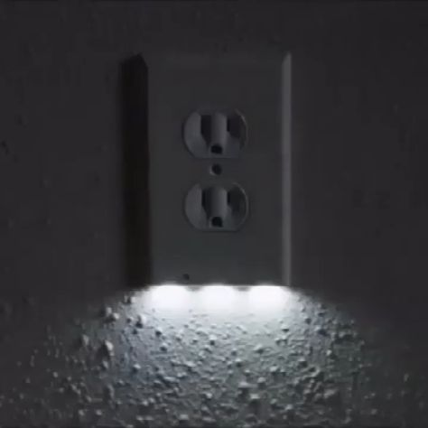 Transform any outlet into a convenient night light!