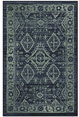 Amazon Com Maples Rugs Kitchen Rugs Made In Usa Georgina 2 6 X 3 10 Non Slip Padded Small Area Rugs For Living Room Area Rugs Maples Rugs Black Area Rugs