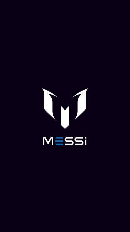 Messi Logo Art Minimal Dark Iphone6 Plus Wallpaper Messi Logo Lionel Messi Wallpapers Messi Photos