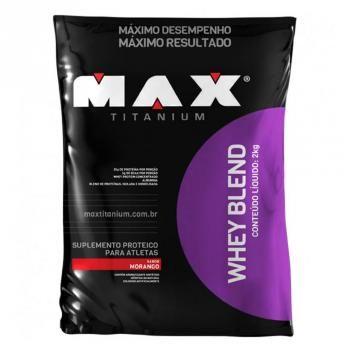 Whey Blend 2kg Max Titanium Suplementos Produtos De Academia