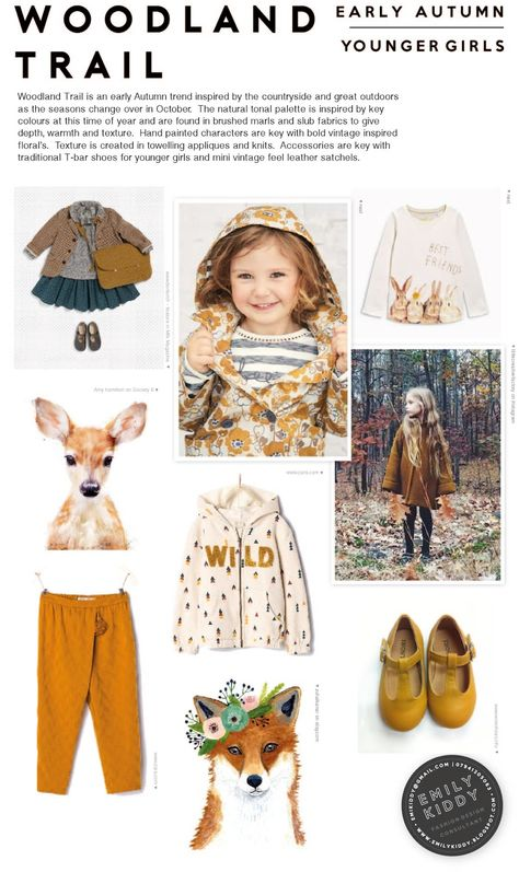 Here is a sample of one of the (many many) trends from my Autumn | Winter 2017/18 Trend Magazine for Kidswear. If you haven't had a look...