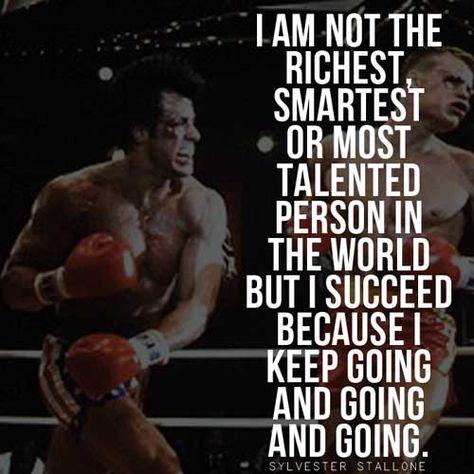 Epic Rocky Balboa Quotes & Sylvester Stallone Speeches