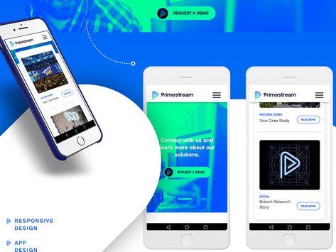 Primestream-Branding Development,UX,UI Design