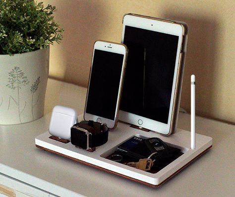 NytStnd TRAY 4  FREE 2 Day SHIPPING Charging Station by NytStnd