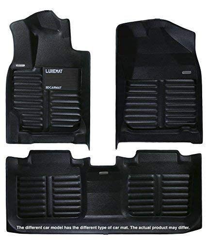 Luxemat Custom All Weather Premium Car Mat For 2013 17 Honda Accord Anti Slip Auto Flooring Waterproof And Dirt Proo Car Mats Premium Cars Leather Material