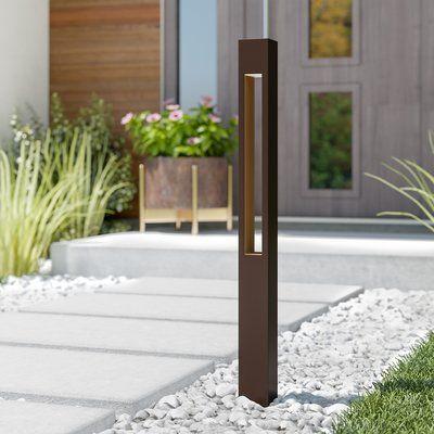 Bollard Lighting Modern Landscaping, Outdoor Path Lights Hardwired