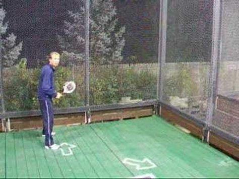 Peter Berka, Director at Sunset Ridge Country Club, demonstrates screen play in platform tennis. Tennis Online, Tennis Tips, Move Your Body, Paddle, Screens, Platform, Learning, Helpful Tips, Hacks