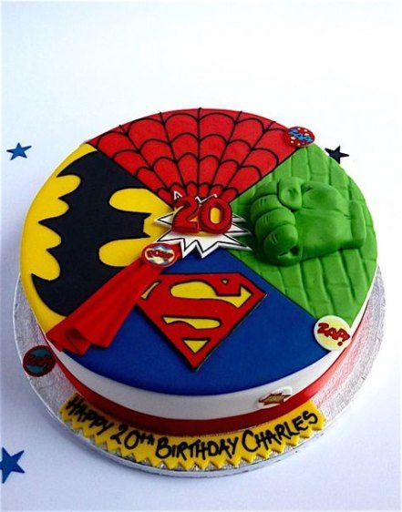 Cake For Kids Birthday Boys Super Heros 26 Trendy Ideas Cake